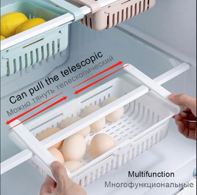 You Can Use The Kitchen Fruit And Vegetable Organizer